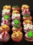 Festliches Gebäck - Macarons de Noel