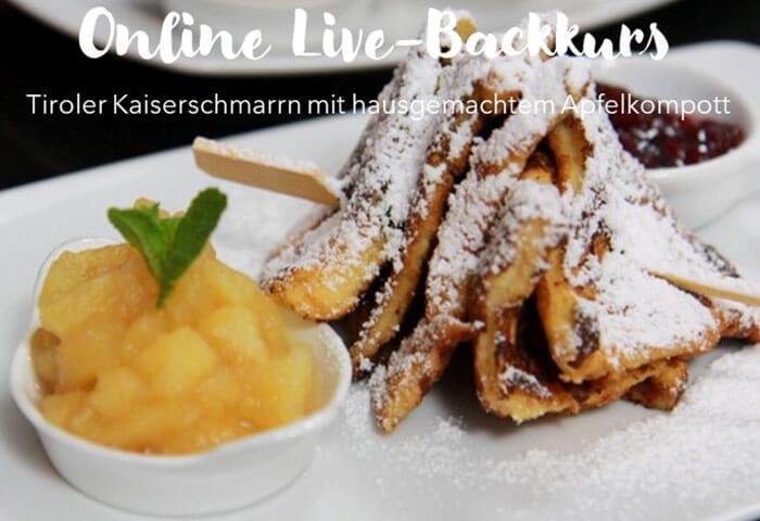ONLINE LIVE: Tiroler Kaiserschmarrn