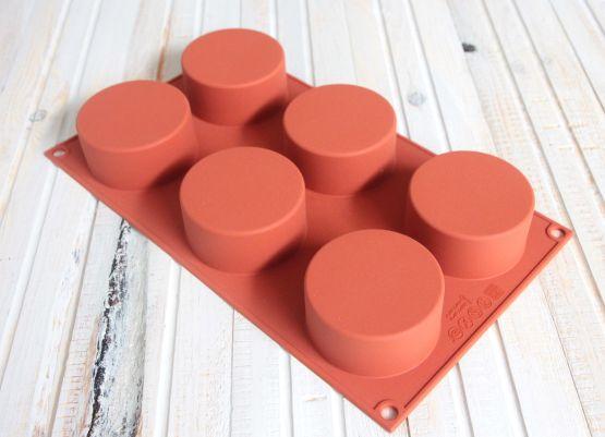 silikomart®  Zylinder / Tartelettes