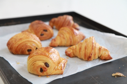 Vive la France - Croissants & Pain au choc!