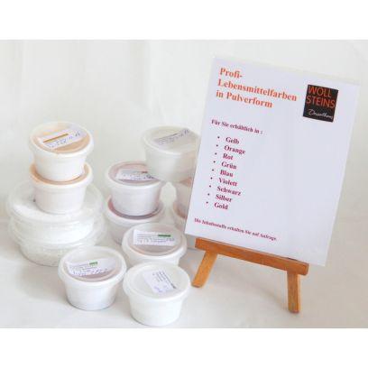 Silber - hoch konzentrierte Lebensmittel-Pulverfarbe 5g