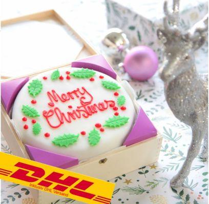 Festtagstorte Merry Christmas