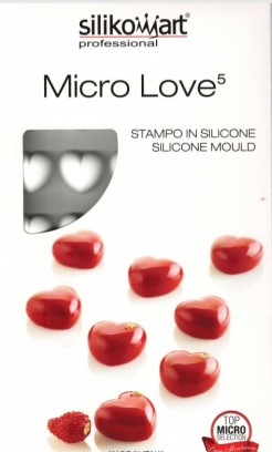 silikomart® Micro Love Hearts 5