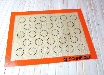 Profi-Backmatte für Macarons 30 x 40 cm