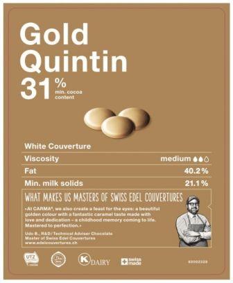 Carma Gold Quintin Schokolade 250 g