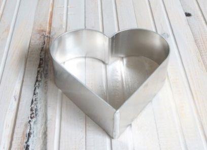 Tortenring Herzform 16 x 5 cm