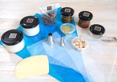 Profi-Patisserie-Box Feine Französische Eclairs I - Noisette et chocolat